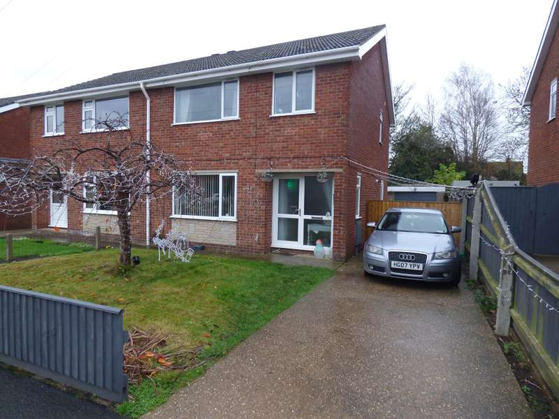 3 Bedrooms Semi Detached House for sale in Chestnut Drive, Louth, LN11 7AX