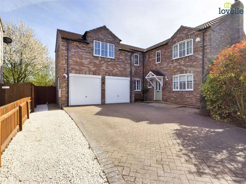5 Bedrooms House for sale in Lawson Court, Dunholme, Lincoln, LN2
