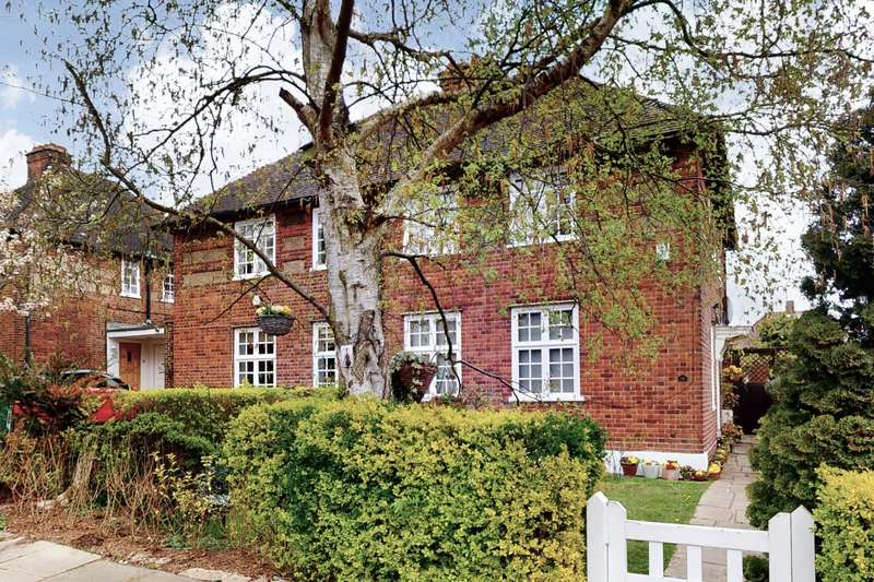 3 Bedrooms End Of Terrace House for sale in Eastholm, Hampstead Garden Suburb