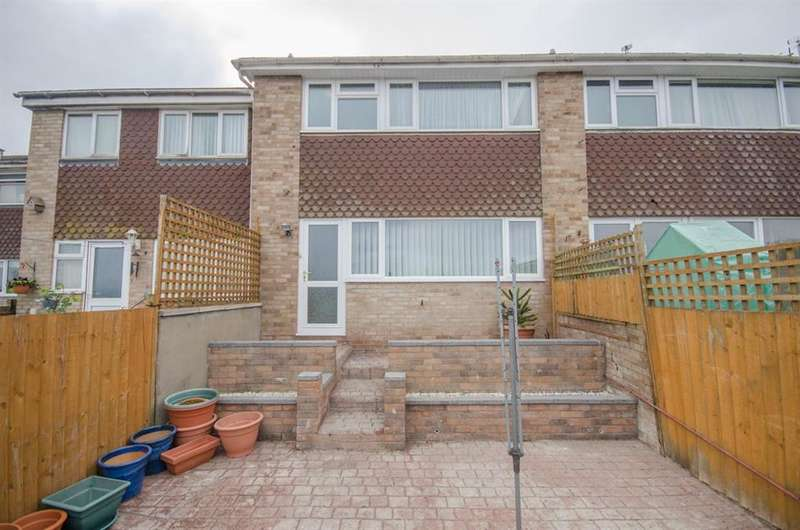 3 Bedrooms Terraced House for sale in Hawkridge Drive, Pucklechurch, Bristol, BS16 9SL