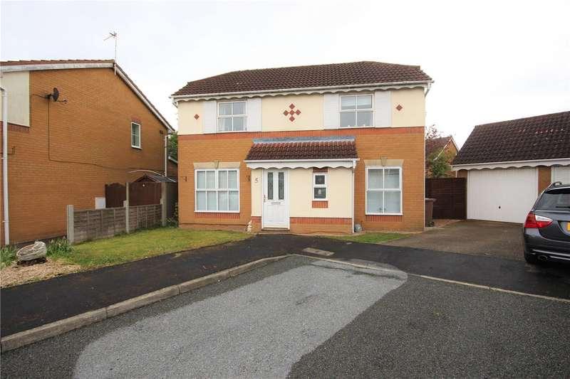 3 Bedrooms Detached House for sale in Fosse Court, Bracebridge Heath, Lincoln, LN4