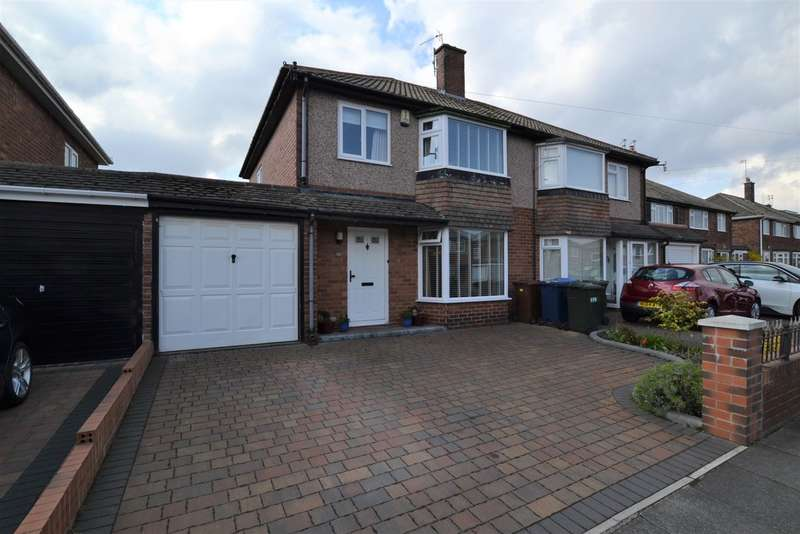 3 Bedrooms Semi Detached House for sale in Regent Farm Road, Gosforth, Newcastle Upon Tyne