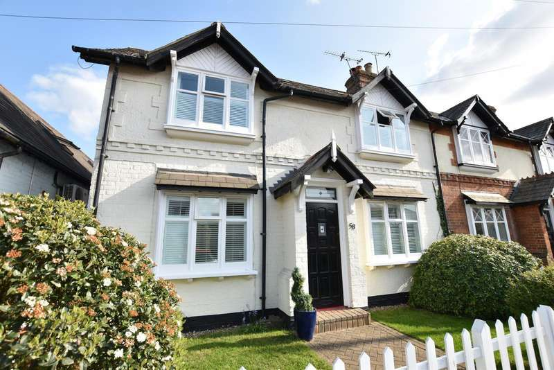 3 Bedrooms Semi Detached House for sale in Station Road, West Byfleet, KT14
