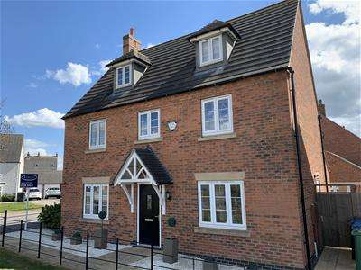 5 Bedrooms Property for sale in Barnards Way, Kibworth Harcourt, Leicester