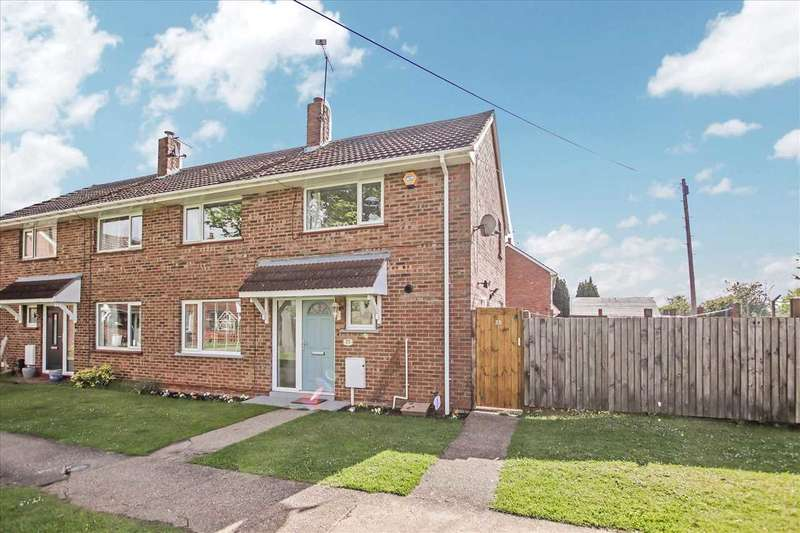 3 Bedrooms Semi Detached House for sale in Westmoreland Avenue, Scampton, Scampton