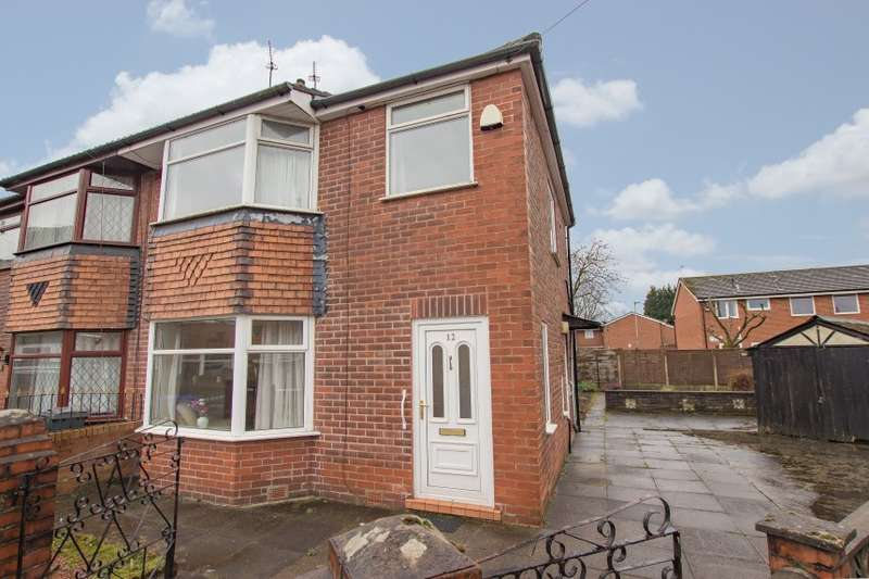 3 Bedrooms Semi Detached House for sale in 12 Westcraig Avenue, Moston, Manchester