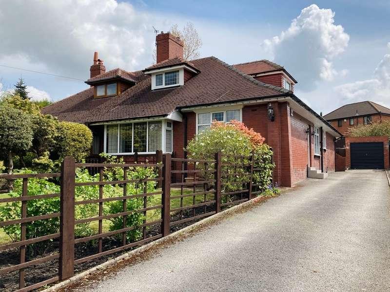 5 Bedrooms Semi Detached Bungalow for sale in Ripponden Road, Moorside, Oldham
