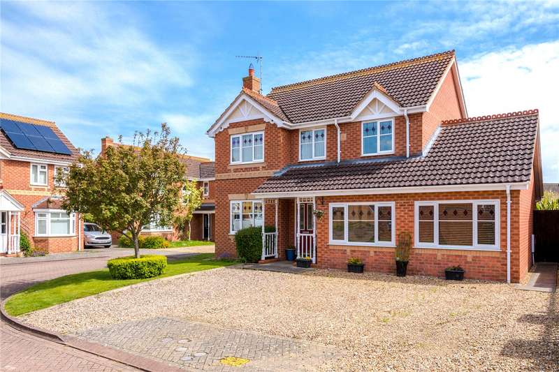 4 Bedrooms Detached House for sale in Palmer Court, Sleaford, NG34