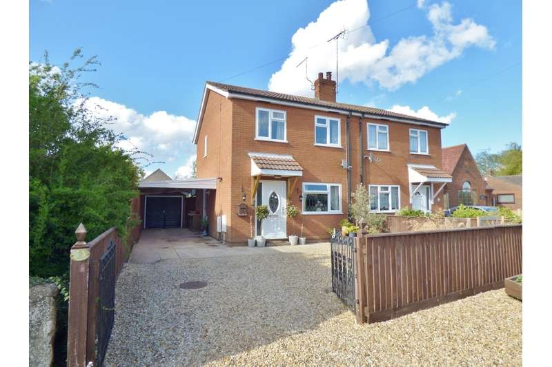 3 Bedrooms Semi Detached House for sale in Middle Road, Whaplode, Nr Spalding