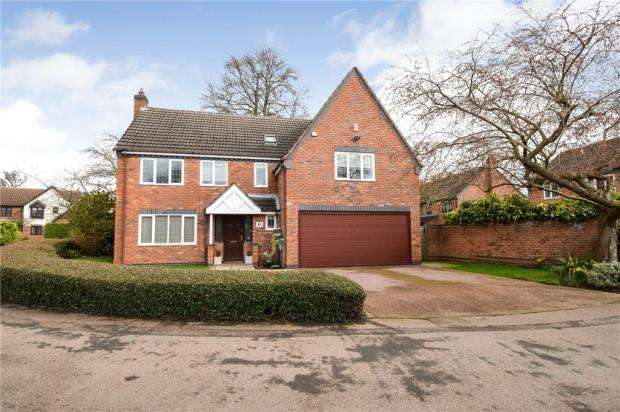 6 Bedrooms Detached House for sale in Sanders Road, Quorn, Loughborough