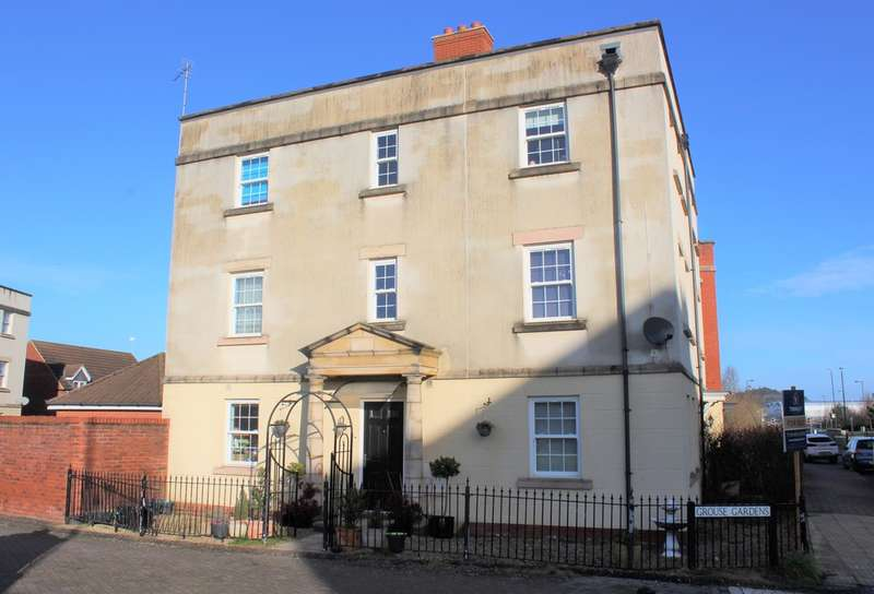 3 Bedrooms End Of Terrace House for sale in Grouse Gardens, Coopers Edge, Gloucester, GL3
