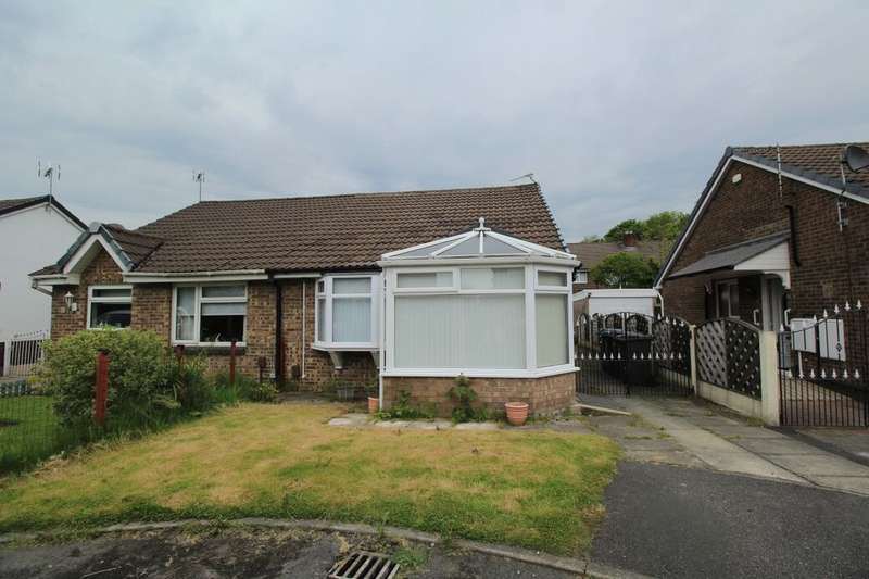2 Bedrooms Semi Detached Bungalow for sale in Westmorland Close, Bury, BL9