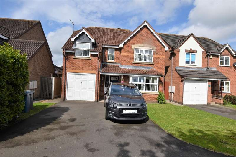 4 Bedrooms Detached House for sale in Towson Field, East Leake, Loughborough