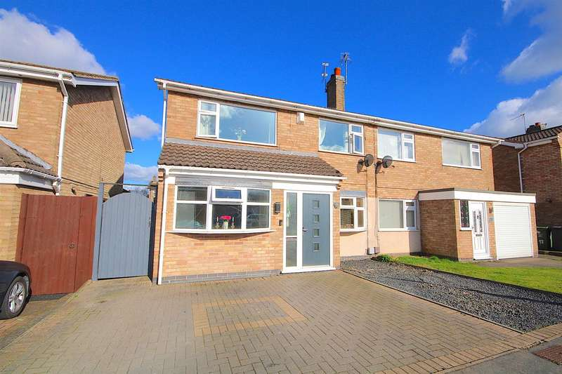 4 Bedrooms Semi Detached House for sale in Tinkers Dell, East Goscote