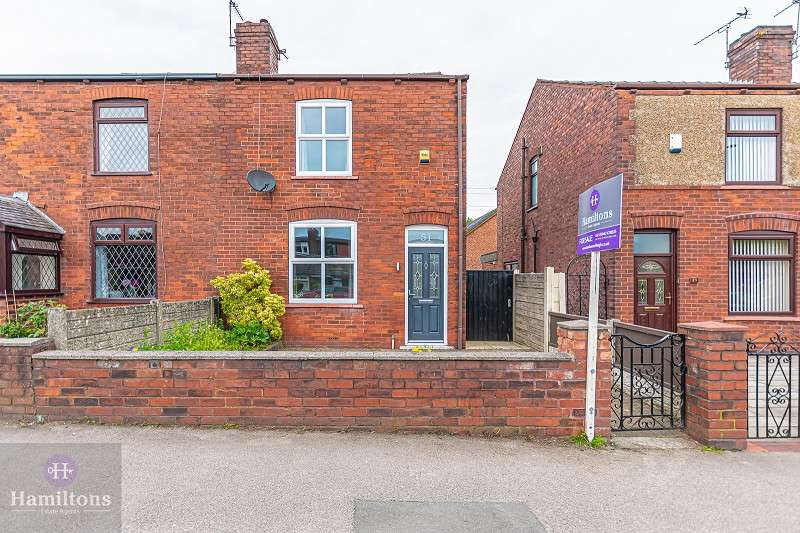 2 Bedrooms Semi Detached House for sale in Wigan Road, Atherton, Greater Manchester. M46 0LW