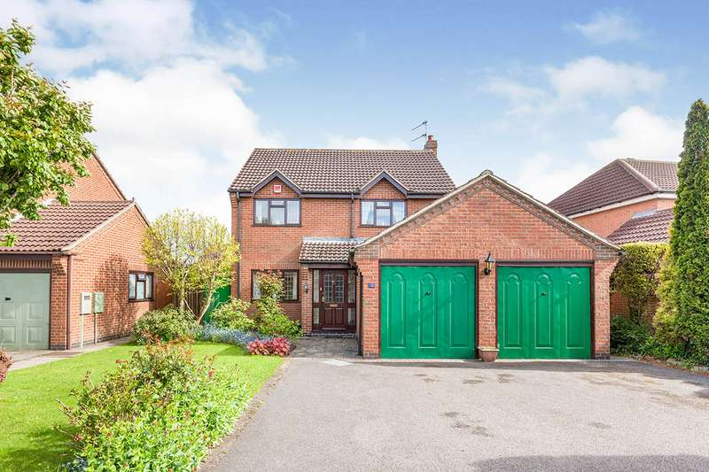 4 Bedrooms Detached House for sale in Westbourne Road, Underwood, Nottingham, NG16