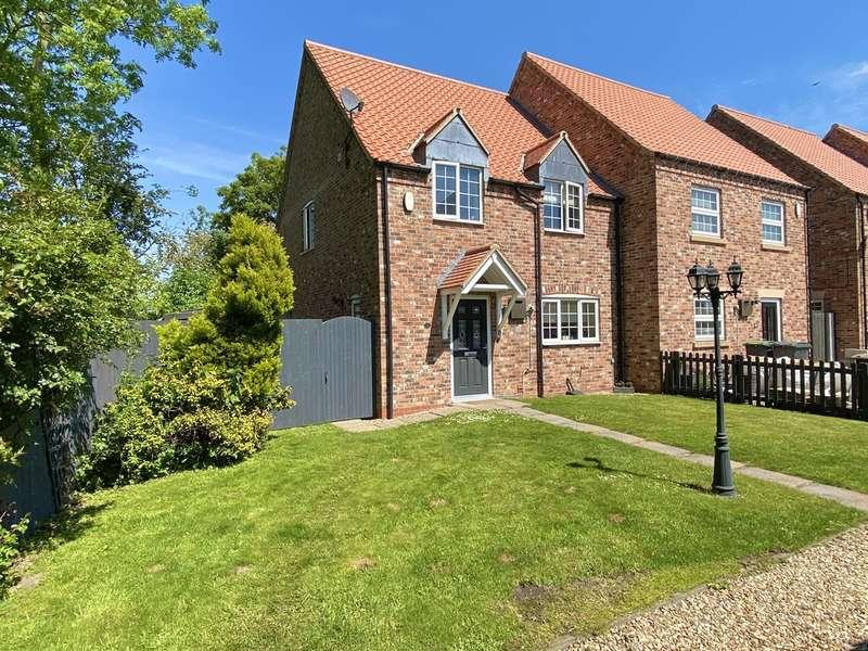 3 Bedrooms Semi Detached House for sale in Skayman Fields, Carlton-Le-Moorland