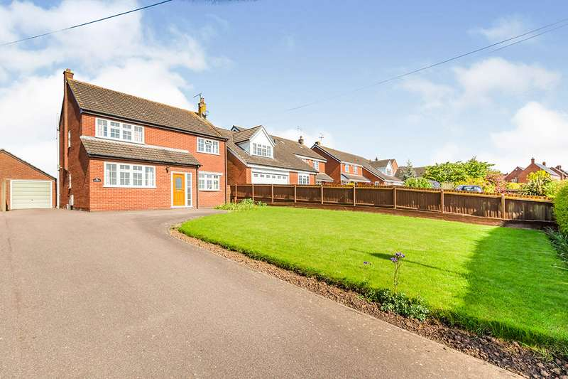 4 Bedrooms Detached House for sale in Croft Road, Thurlaston, Leicester, Leicestershire, LE9
