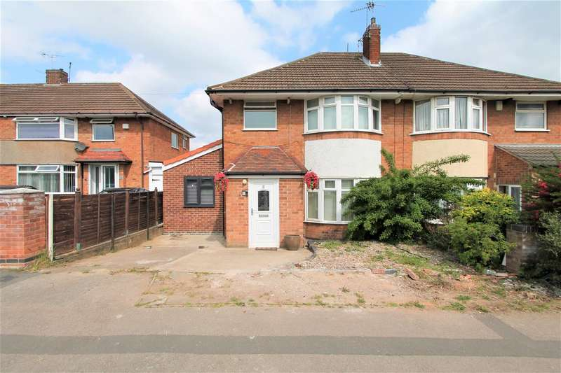 4 Bedrooms Semi Detached House for sale in Oadby Road, Wigston, Leicester LE18