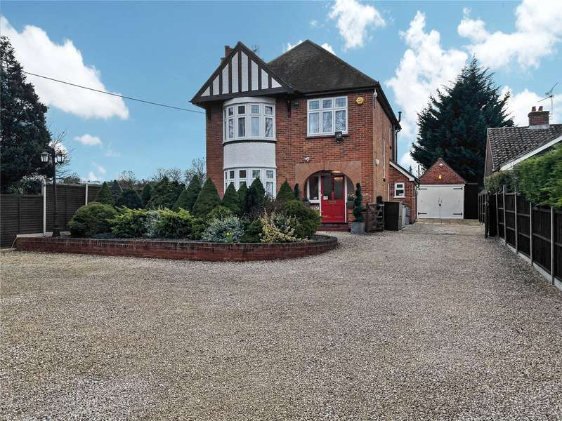 3 Bedrooms Detached House for sale in Basingstoke Road, Three Mile Cross, Reading, RG7