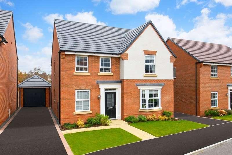 4 Bedrooms House for sale in Holden, Wigston Meadows, Newton Lane, Wigston, WIGSTON, LE18 3SH