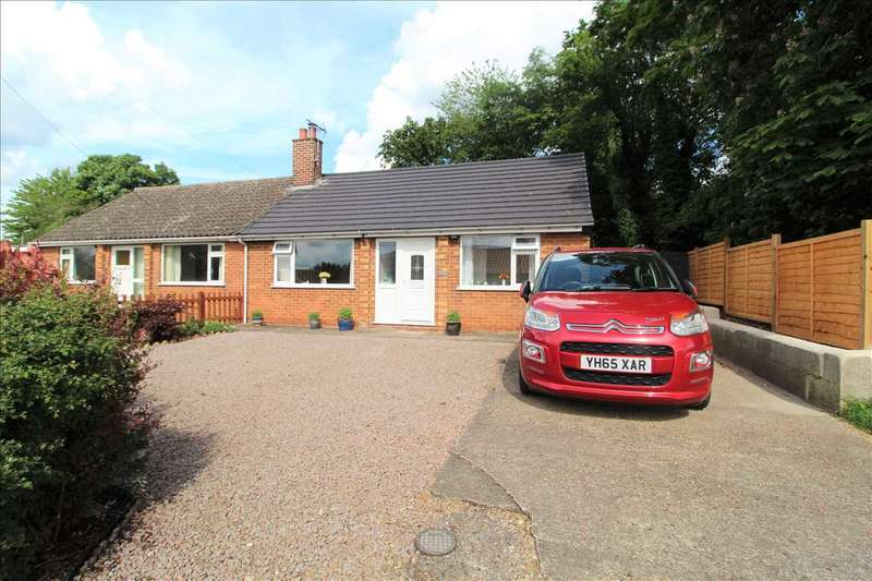 2 Bedrooms Semi Detached Bungalow for sale in Back Lane, Colsterworth, Grantham
