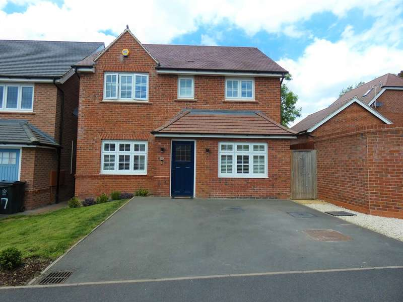 4 Bedrooms Detached House for sale in Bovinger Road, Off Humberston Drive, Leicester