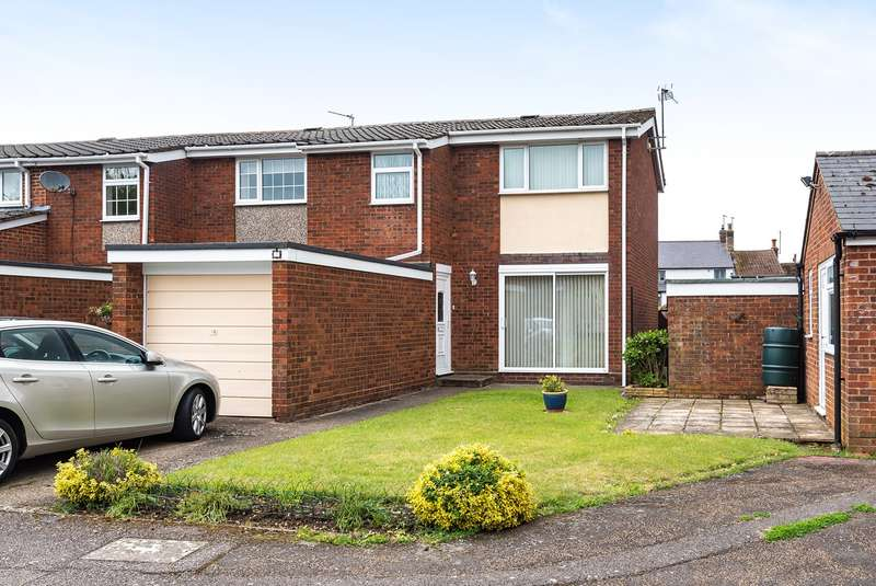 3 Bedrooms End Of Terrace House for sale in Mander Close, Toddington, LU5