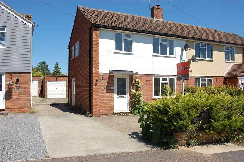 3 Bedrooms Semi Detached House for sale in Tavistock Road, Old Springfield, Chelmsford