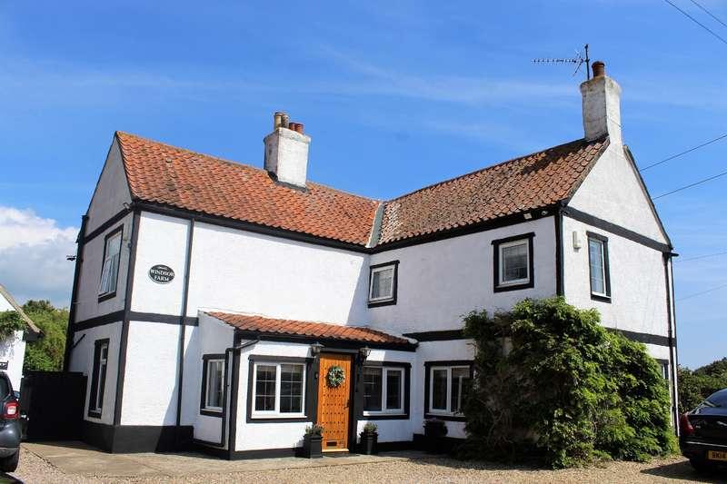 4 Bedrooms Detached House for sale in Croft Bank, Croft, Skegness, PE24 4RL