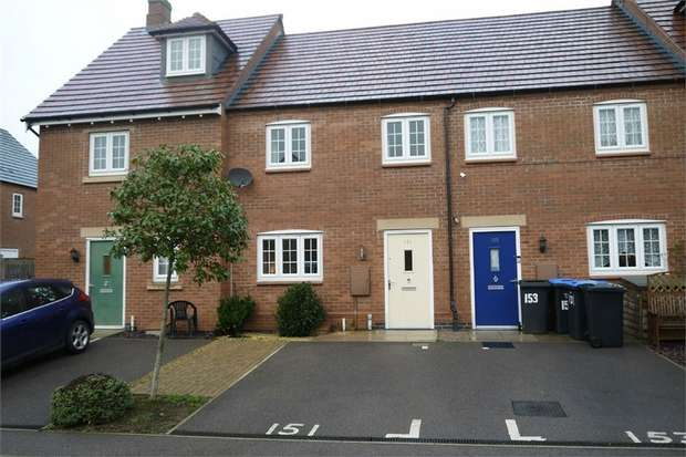 2 Bedrooms Terraced House for sale in Dairy Way, Kibworth Harcourt, Leicester