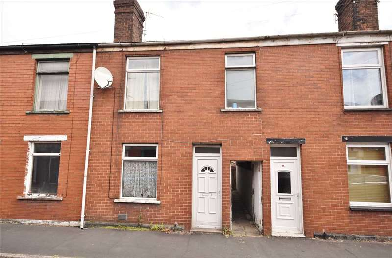 2 Bedrooms Terraced House for sale in Carrington Road, Chorley