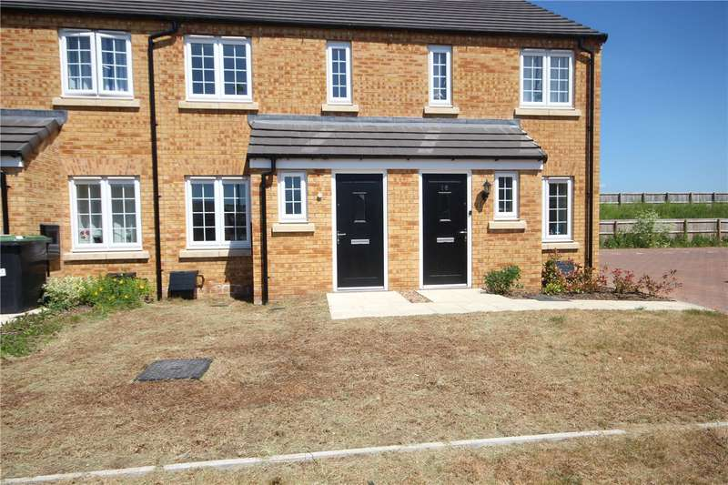 2 Bedrooms Terraced House for rent in Kirk Way, Holdingham, Sleaford, Lincolnshire, NG34