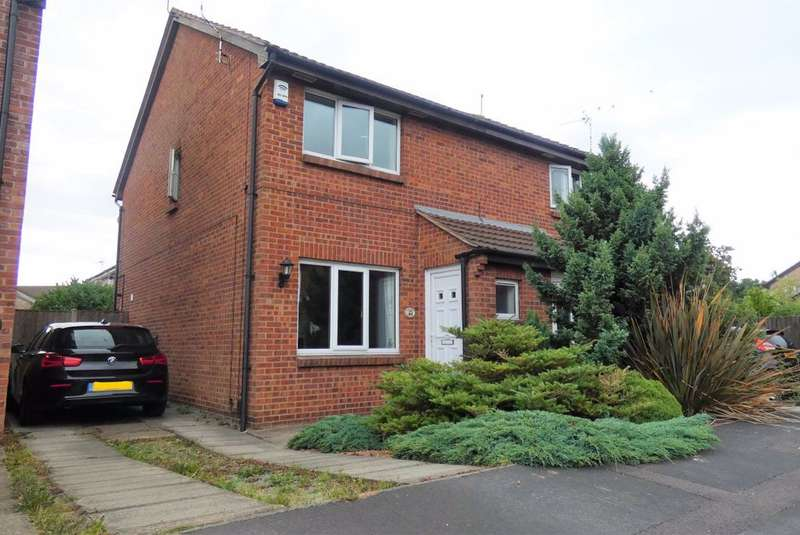 2 Bedrooms Semi Detached House for rent in Bishopdale Close, Long Eaton, NG10 3PJ