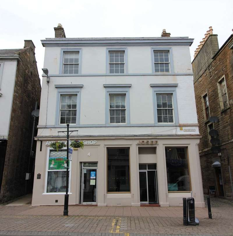 3 Bedrooms Flat for sale in Academy Street, Ayr