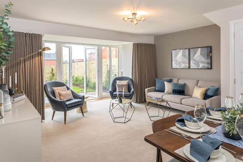 4 Bedrooms House for sale in Broughton, City Heights, Somerset Avenue, Leicester, LEICESTER, LE4 0JY