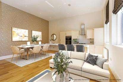2 Bedrooms Flat for sale in Rose Court, Gander Lane, Tewkesbury, Gloucestershire