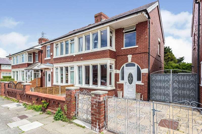 3 Bedrooms Semi Detached House for sale in Deneway Avenue, Blackpool, Lancashire, FY3