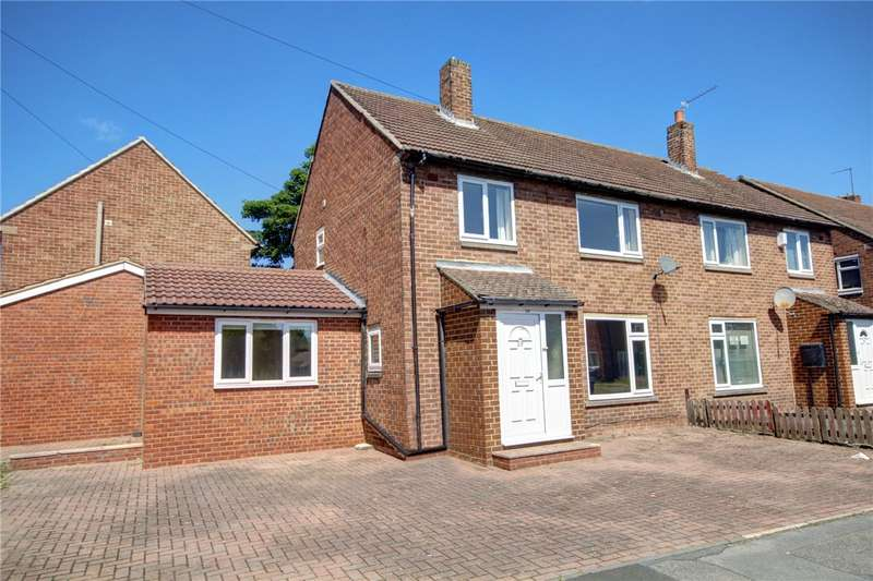 4 Bedrooms Semi Detached House for sale in Newton Drive, Framwellgate Moor, Durham, DH1