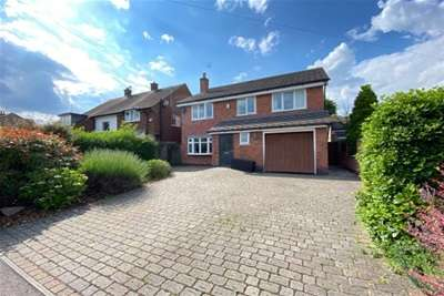 4 Bedrooms Detached House for rent in Spinney Hill Drive, Loughborough, Leics, LE11 1LB