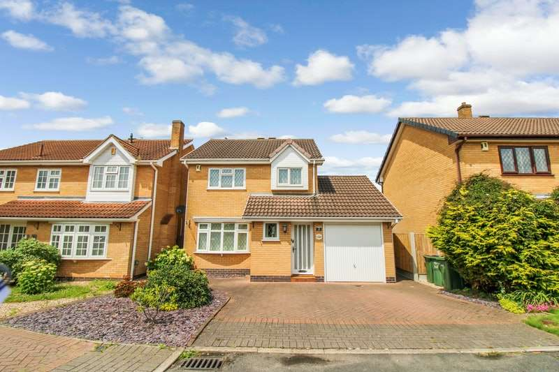 3 Bedrooms Detached House for sale in Hayfield Close, Leicester, Leicestershire, LE3