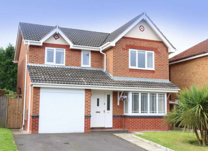 4 Bedrooms Detached House for sale in Top Acre Road, Skelmersdale, Lancashire, WN8