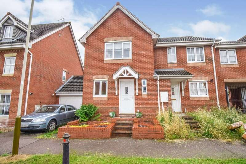2 Bedrooms Semi Detached House for sale in Carrington Road, Hamilton, Leicester, LE5