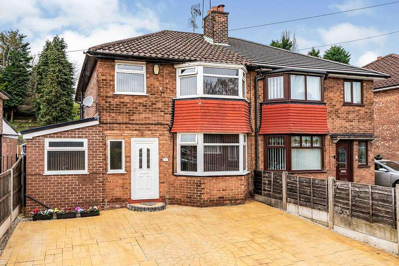3 Bedrooms Semi Detached House for rent in Hillside Drive, Pendlebury,Swinton, Manchester, M27