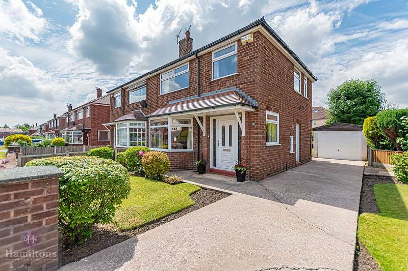3 Bedrooms Semi Detached House for sale in Meynell Drive, Pennington , Leigh, Greater Manchester. WN7 3JR