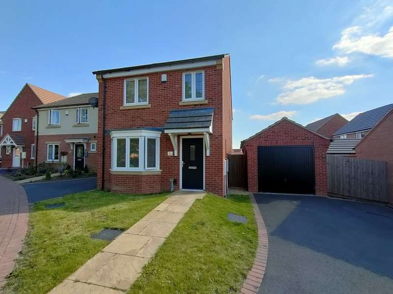 3 Bedrooms Detached House for sale in Buttercup Lane, Shepshed