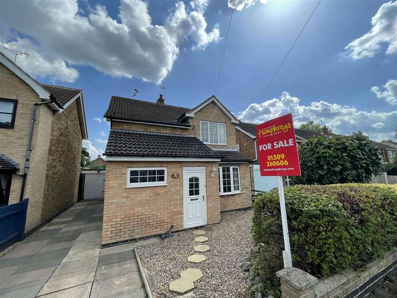 3 Bedrooms Detached House for sale in Kirkstone Drive, Loughborough, LE11 3RN