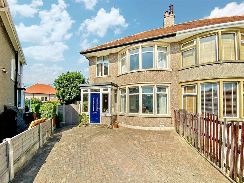 3 Bedrooms Semi Detached House for sale in Knowlys Crescent, Heysham, Morecambe