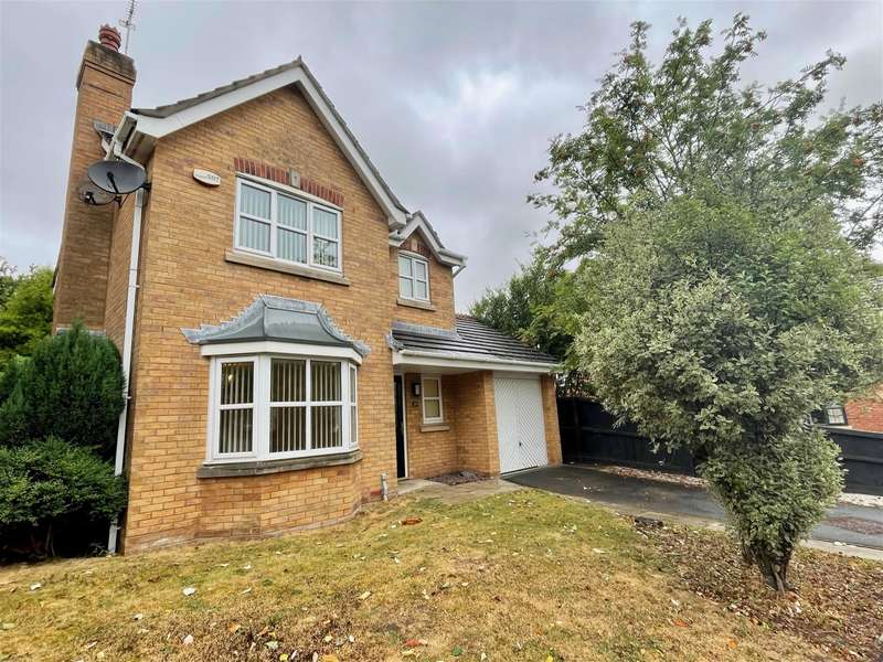 3 Bedrooms Detached House for sale in Rosefinch Way, Blackpool, Lancashire, FY3 9NY