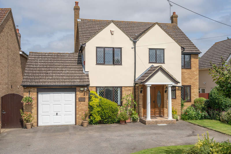4 Bedrooms Detached House for sale in Jaspers Green, Shalford